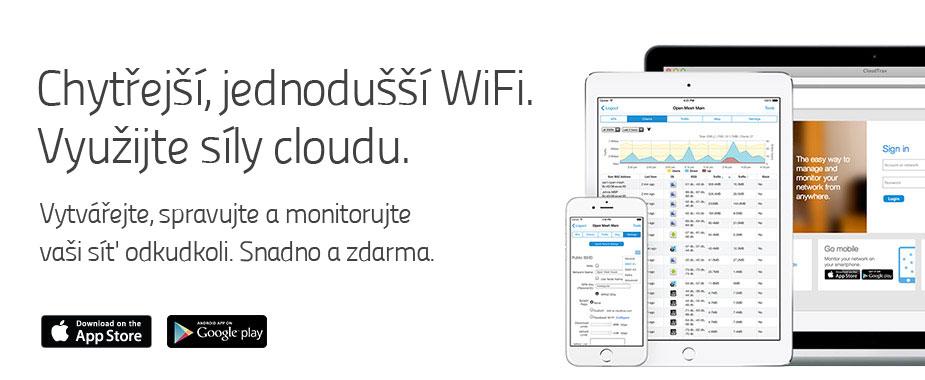 Správa a monitorování sítě z cloudu zdarma